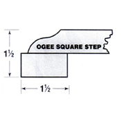 Ogee Square Step Edge